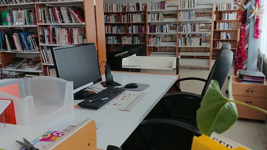 Accueil de votre Bibliothèque